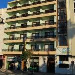 Fachada del Hotel Buenavista en Estepona