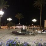 El casco antiguo es ideal para pasear de noche con sus plazas iluminadas